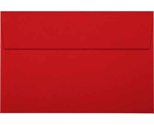 A9 Invitation Envelopes (5 3/4 x 8 3/4) Holiday Red