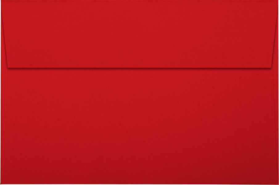 holiday red a9 envelopes square flap 5 3 4 x 8 3 4 envelopes com
