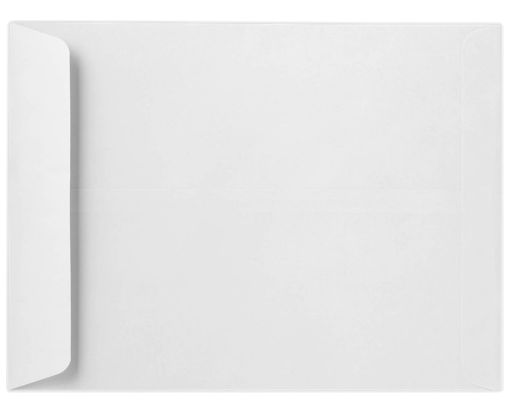 9 x 12 Open End Envelopes 80lb. White, Inkjet