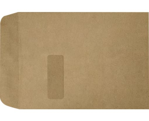9 x 12 Open End Window Envelopes Grocery Bag