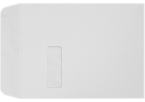 X Open End Window Envelopes Lb Lb Bright White - 9x12 window envelope template