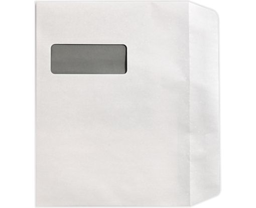 9 x 12 Booklet Window Envelopes 28lb. Bright White