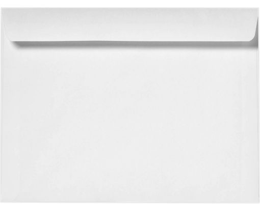 9 1/2 x 12 5/8 Booklet Envelopes 24lb. Bright White