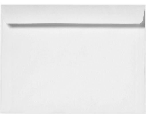 10 x 13 Booklet Envelopes 24lb. Bright White