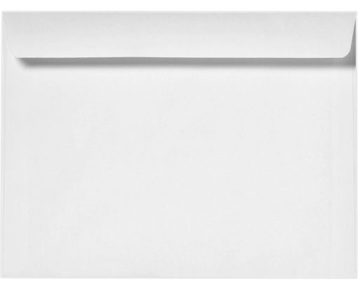 10 x 13 Booklet Envelopes 28lb. Bright White