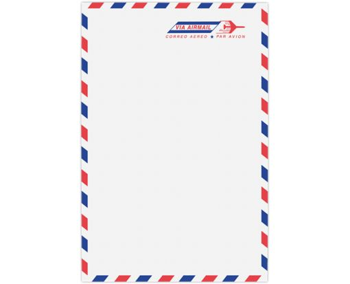 6 x 9 Open End Envelopes 24lb. Airmail