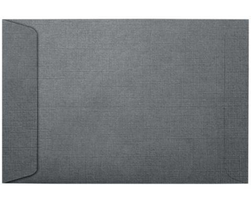 6 x 9 Open End Envelopes Sterling Gray Linen