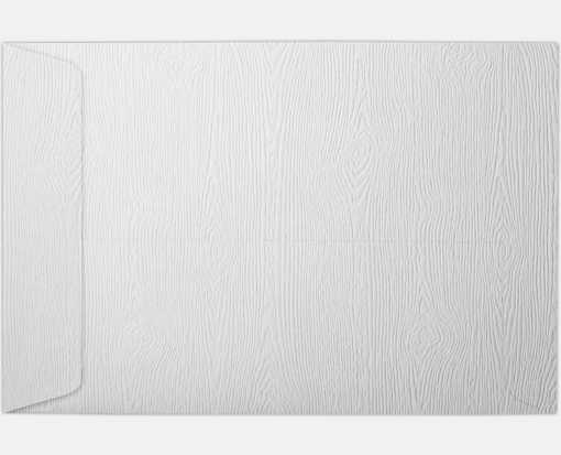 6 x 9 Open End Envelopes White Birch Woodgrain