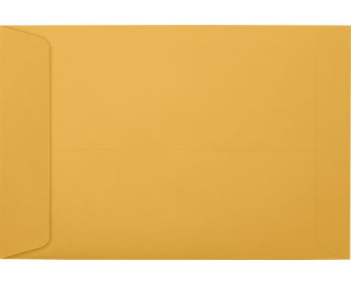 6 x 9 Open End Envelopes 28lb. Brown Kraft