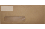 2.625 x 1 Standard Address Labels, 30 Per Sheet Clear Matte