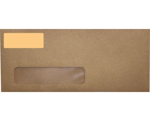 2.625 x 1 Standard Address Labels, 30 Per Sheet Pastel Orange