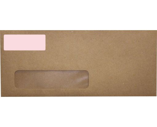 2.625 x 1 Standard Address Labels, 30 Per Sheet Pastel Pink