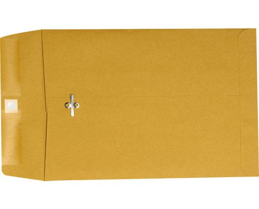 6 x 9 Clasp Envelopes 28lb. Brown Kraft