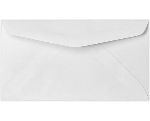 #6 1/4 Regular Envelopes (3 1/2 x 6) 24lb. Bright White