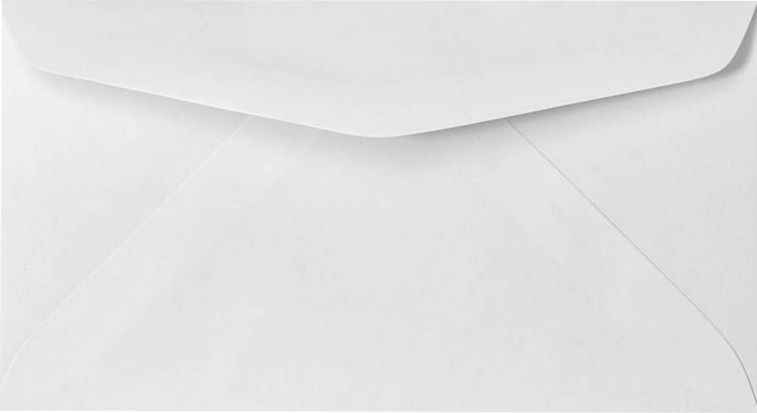 Muito 6 3/4 Regular Envelopes (3 5/8 x 6 1/2) 24lb. 24lb. Bright White  ZP47