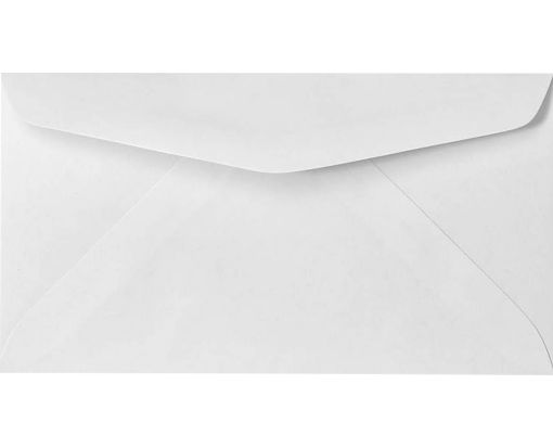 #6 3/4 Regular Envelopes (3 5/8 x 6 1/2) 24lb. Bright White