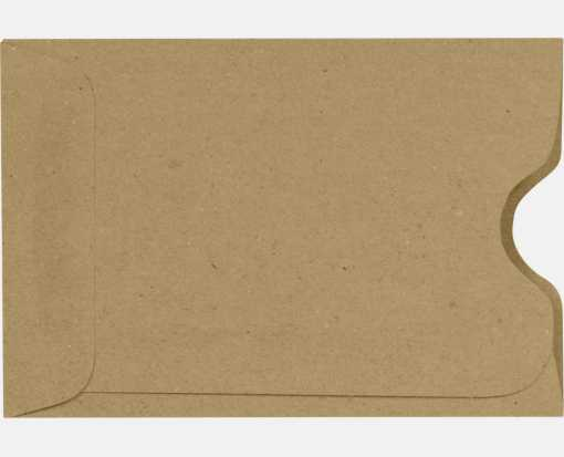 Credit Card Sleeve (2 3/8 x 3 1/2) Grocery Bag