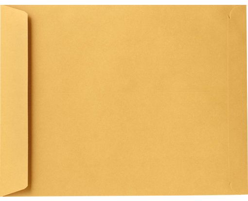 9 1/2 x 12 1/2 Open End Envelopes 24lb. Brown Kraft