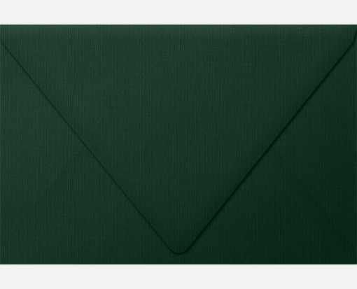 6 x 9 Booklet Contour Flap Envelopes Green Linen
