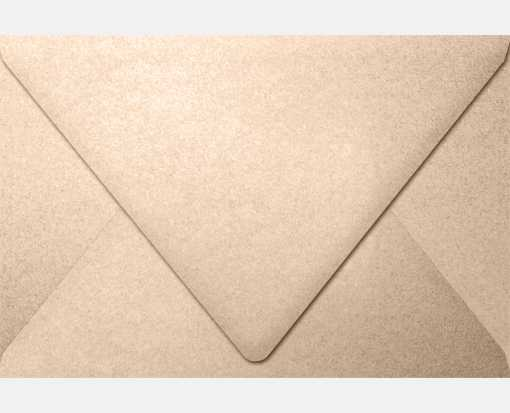 6 x 9 Booklet Contour Flap Envelopes Coral Metallic - Stardream®