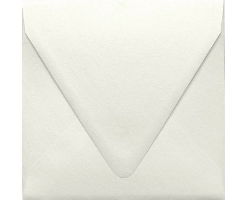 6 1/2 x 6 1/2 Square Contour Flap Envelopes Quartz Metallic