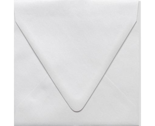 6 1/2 x 6 1/2 Square Contour Flap Envelopes Crystal Metallic