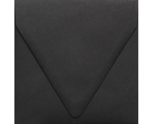 6 1/2 x 6 1/2 Square Contour Flap Envelopes Midnight Black