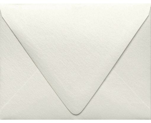 A1 Contour Flap Envelopes (3 5/8 x 5 1/8) Quartz Metallic