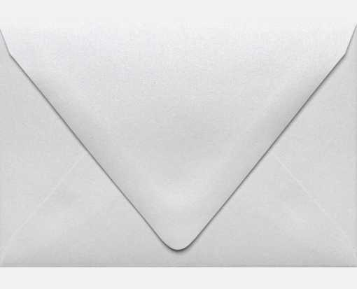 A1 Contour Flap Envelopes (3 5/8 x 5 1/8) Crystal Metallic