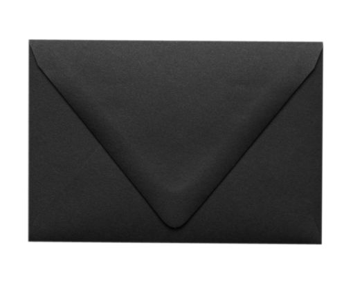 A1 Contour Flap Envelopes (3 5/8 x 5 1/8) Midnight Black