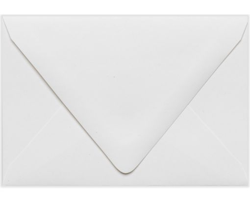 A1 Contour Flap Envelopes (3 5/8 x 5 1/8) White - 100% Recycled