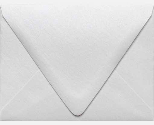 A2 Contour Flap Envelopes (4 3/8 x 5 3/4) Crystal Metallic
