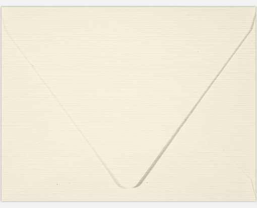 A2 Contour Flap Envelopes (4 3/8 x 5 3/4) Natural Linen