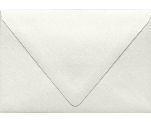 A4 Contour Flap Envelopes (4 1/4 x 6 1/4) Quartz Metallic