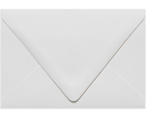 A4 Contour Flap Envelopes (4 1/4 x 6 1/4) White - 100% Recycled