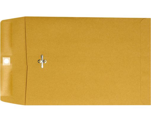 7 x 10 Clasp Envelopes 28lb. Brown Kraft