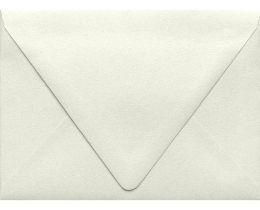 A6 Contour Flap Envelopes (4 3/4 x 6 1/2) Quartz Metallic