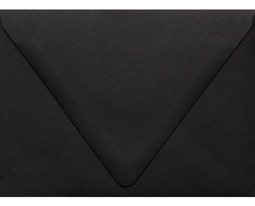 A6 Contour Flap Envelopes (4 3/4 x 6 1/2) Midnight Black
