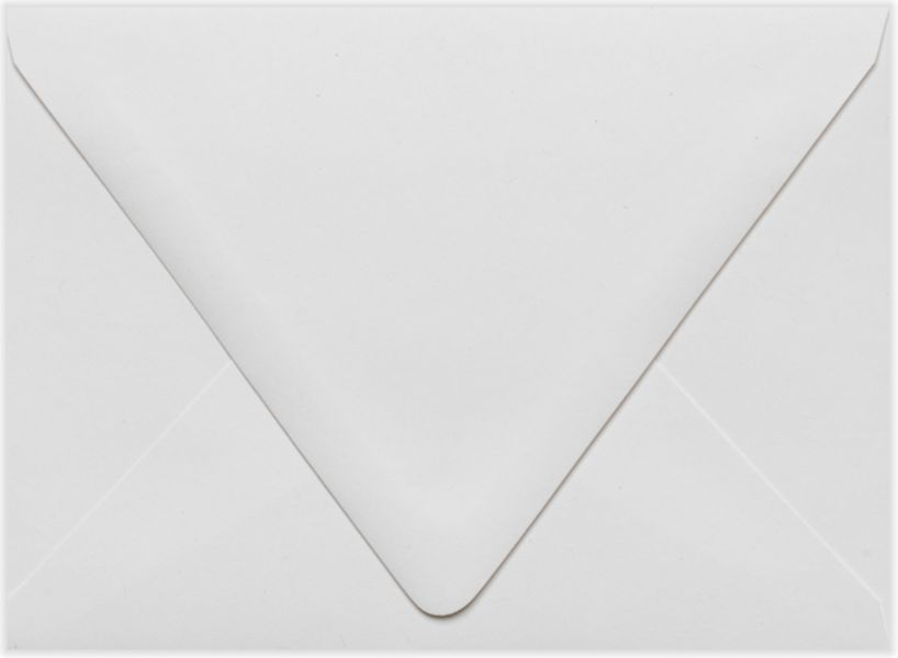 A6 Contour Flap Envelopes (4 3/4 X 6 1/2) 80Lb. White - 100