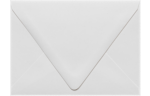 A6 Contour Flap Envelopes White - 100% Recycled