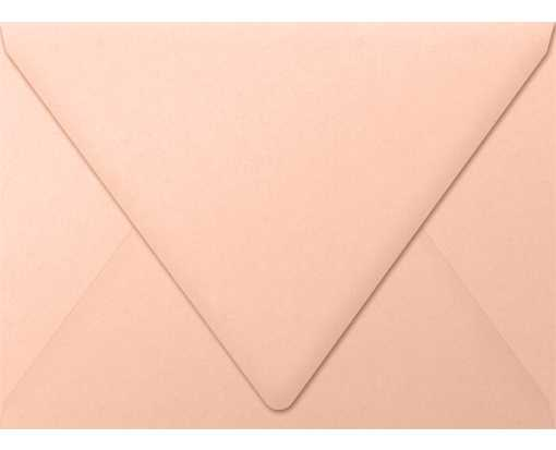 A7 Contour Flap Envelopes (5 1/4 x 7 1/4) Blush