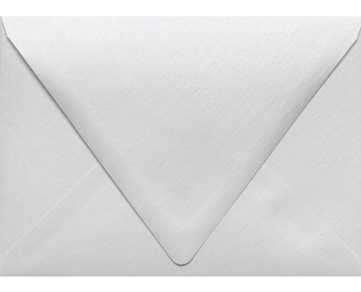 A7 Contour Flap Envelopes (5 1/4 x 7 1/4) Crystal Metallic