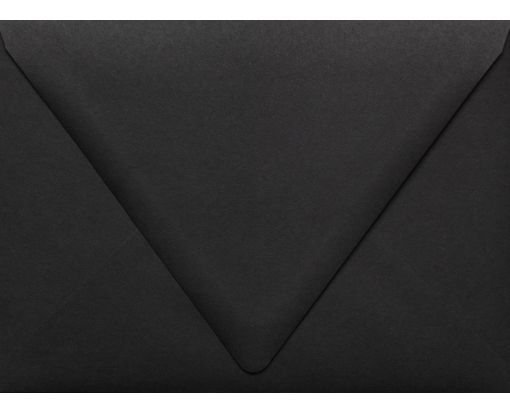 A7 Contour Flap Envelopes (5 1/4 x 7 1/4) Midnight Black