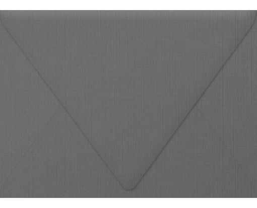 A7 Contour Flap Envelopes (5 1/4 x 7 1/4) Sterling Gray Linen