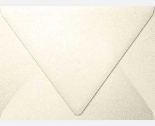 A7 Contour Flap Envelopes (5 1/4 x 7 1/4) Champagne Metallic