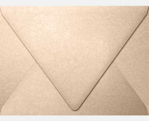 A7 Contour Flap Envelopes (5 1/4 x 7 1/4) Coral Metallic - Stardream®
