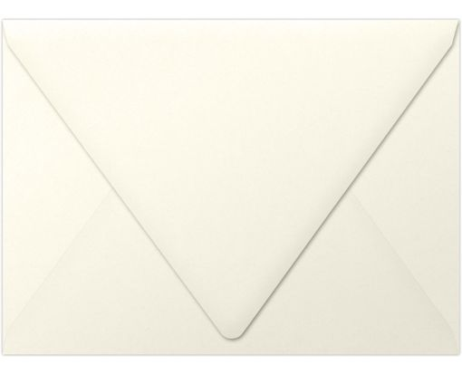 A7 Contour Flap Envelopes (5 1/4 x 7 1/4) Natural - 100% Recycled