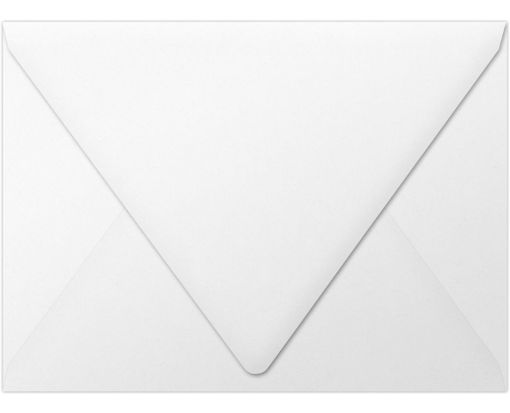 A7 Contour Flap Envelopes (5 1/4 x 7 1/4) White - 100% Recycled