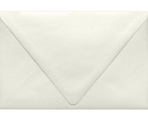 A9 Contour Flap Envelopes (5 3/4 x 8 3/4) Quartz Metallic