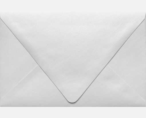A9 Contour Flap Envelopes (5 3/4 x 8 3/4) Crystal Metallic